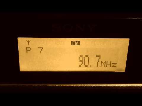 90.7 W Radio Bucaramanga Colombia en Chile - FM DX