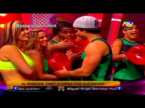 COMBATE: Mario Hart Regala Corazon A Alejandra Baigorria 03/12/13
