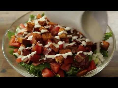 How to Make a BLT Salad | Bacon Recipes | Allrecipes.com