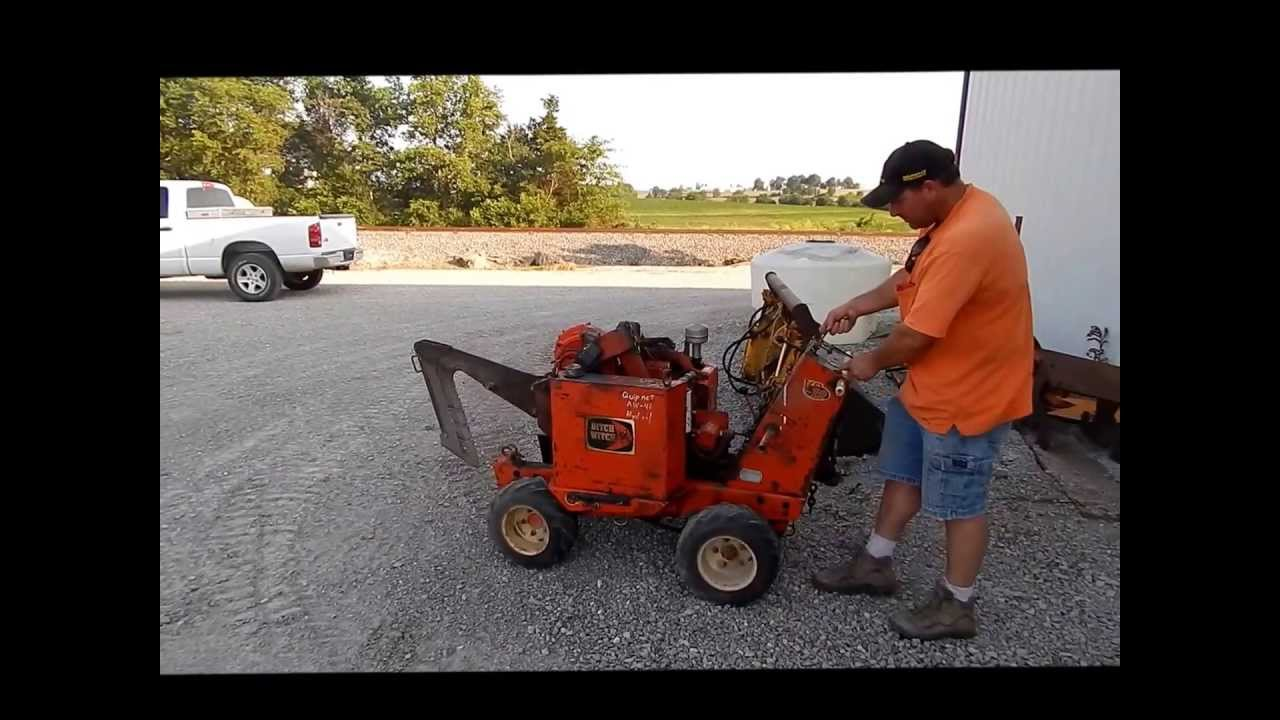 Ditch Witch Vp12 Cable Plow For Sale Sold At Auction