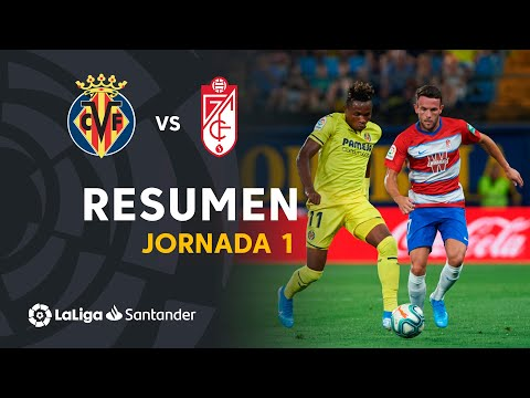Resumen de Villarreal CF vs Granada CF (4-4)