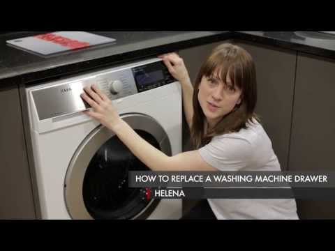 Cách thay ngăn kéo máy giặt