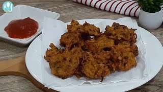 Aloo Pakora | Easy and quick Potato Pakora Making bangla Recipe.