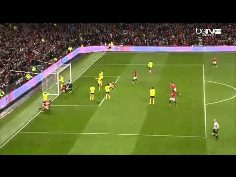 Javier Hernandez GOAL vs Sunderland 2:1 (120') Capital One Cup 22.01.14
