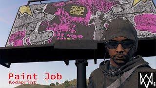 Watch Dogs 2 | Side Operation: Paint Job (Nudle Billboard)