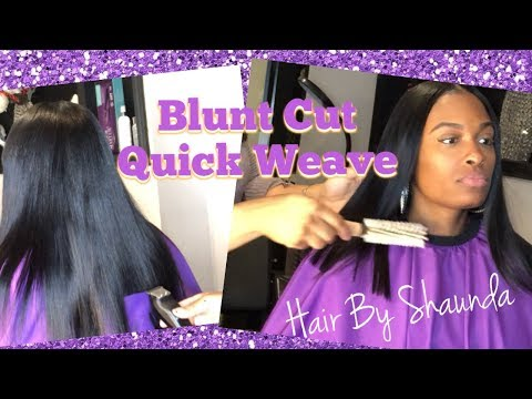Download How To Blunt Bob Cut Quick Weave Bob Using Premium Now Hair