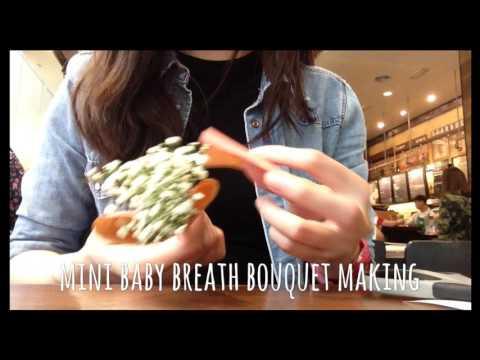 [bloom-buffet#1]-mini-baby-breath-bouquet-making