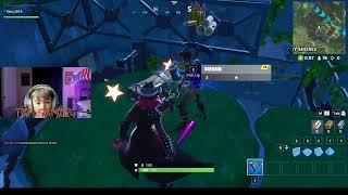 Fortnite Battle Royal - Solos & Random Duos with 8yr Gamer - Calamity Skin - TKM GAMING