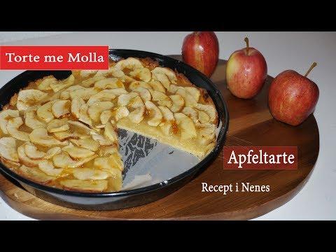"Torte me Molla Recept i Nenes ""Apfeltarte"""
