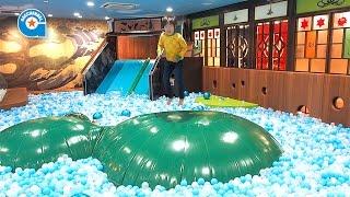 こどもの湯で遊びました【がっちゃん】ボールプール thumbnail
