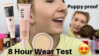 Bite Beauty FOUNDATION?! 8 Hour Wear Test & Review