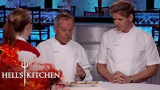 Wolfgang Puck & Gordon Ramsay Judge Pizza | Hell's Kitchen
