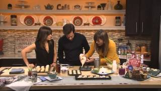 Allison Fishman Task Makes Mini Donuts And Caramel-pecan Sticky Buns