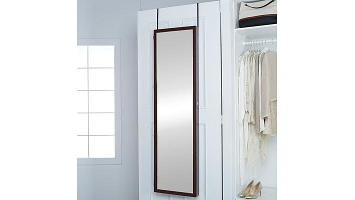 Mirrotek Jumbo OvertheDoor Jewelry Armoire YouTube