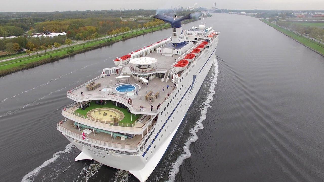 Cruiseschip Magellan Noordzeekanaal Cruise Ship Drone Chase YouTube - Magellan cruise ship