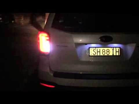 14+ Subaru Forester SJ Colin led Taillight Night time_2 by Varco Parts