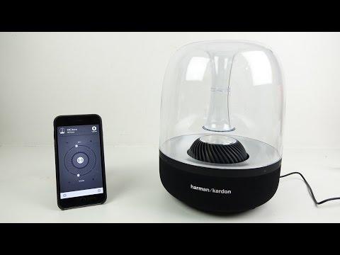 Harman Kardon Aura Airplay Speaker Review/Demo