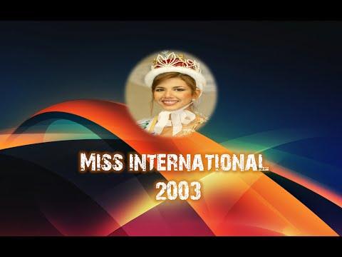 Goizeder Azúa. Miss Venezuela Internacional 2003
