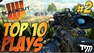 Call of Duty: Black Ops 4 - BLACKOUT Top 10 Plays #2 (COD Top Plays)