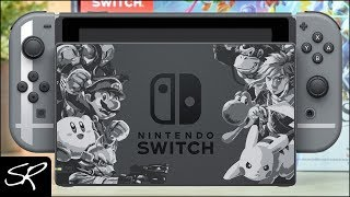 Nintendo Switch Super Smash Bros ULTIMATE EDITION Bundle Review!