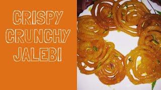 Crispy crunchy Jalebi|easy steps to make perfect jalebi at home.