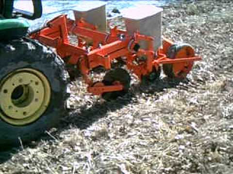 Ac Two Row No Till Planter Youtube