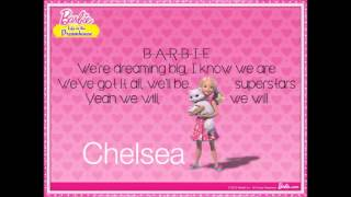 Barbie Life in the Dreamhouse - Anything is Possible w/lyrics