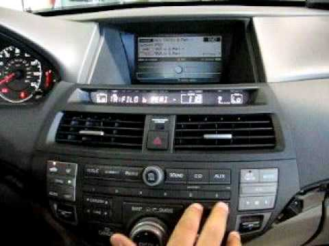 Isimple Gateway In A 2009 Honda Accord With A Nav Radio