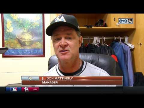 Don Mattingly -- Miami Marlins at San Diego Padres 04/21/2017