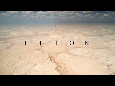 Miracle Salt Lake Elton, Volga Steppe. Unique Russia Aerial / Озеро Эльтон, Волжская степь с высоты