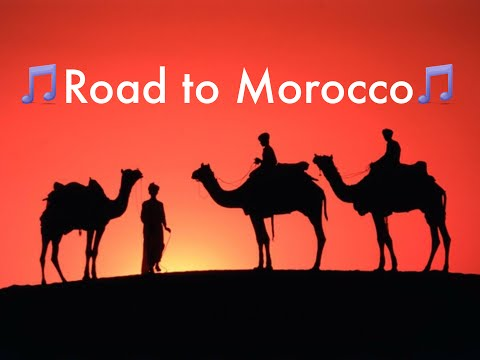 ROAD TO MOROCCO - SONG - ROSEMARY CLOONEY - CROSBY HOPE