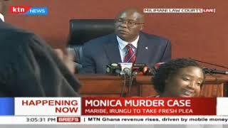 Monica murder case Maribe, Irungu to take fresh plea