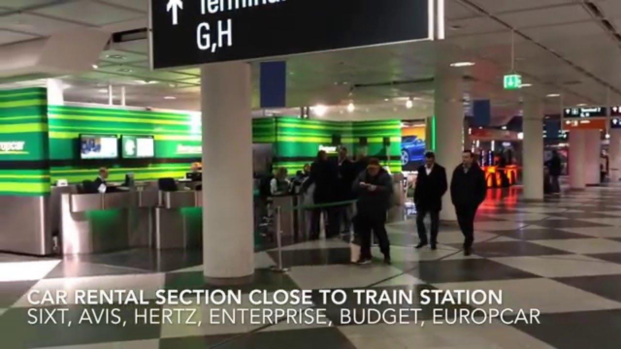 Airport Munich Trainstation Flughafen Munchen S Bahnhof Youtube