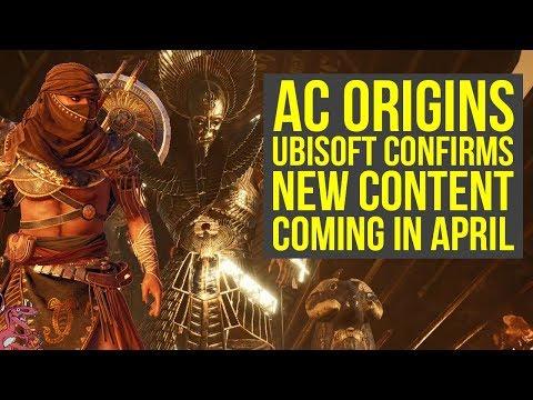 Assassin's Creed Origins DLC New Content Coming In April ALL WE KNOW SO FAR (AC Origins DLC)