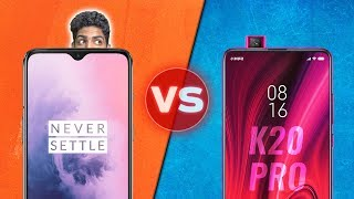 Redmi K20 Pro vs OnePlus 7 Full Comparison - LET'S SETTLE IT!