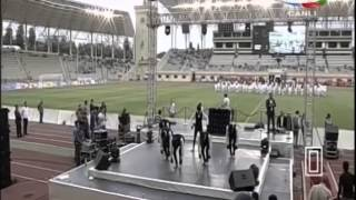 PFL 2014 Opening Ceremony | FLASHMOB Azerbaijan | Idman Azerbaijan