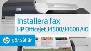 Installera fax