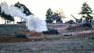 قصف واشتباكات متبادلة بين الجيش التركي والوحدات الكردية شمال سوريا-تفاصيل