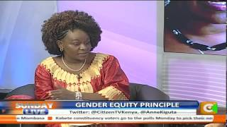 Sunday Live: Gender Equality Principal