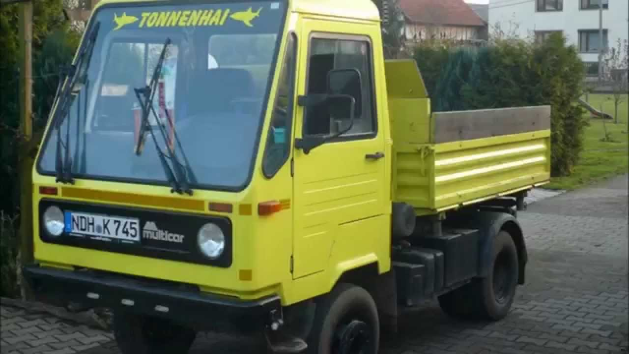 Multicar M26 - YouTube