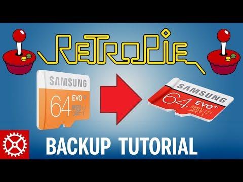 How To Backup Retropie 4 1 SD Card Setup from Raspberry Pi