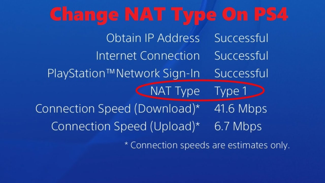 How To Change Nat Type On PS4 - Solved 2019 | PS4DNS COM
