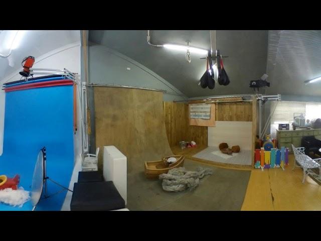 O Estúdio Vimo conta com 80 m² dedicados exclusivamente à fotografia.