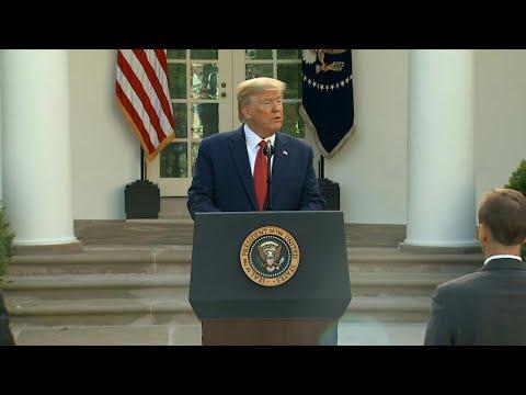Coronavirus: Peak US death rate likely to hit in two weeks says Trump | AFP