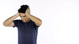 Frustrated Indian man badly screaming and shouting in anger - emotions concept