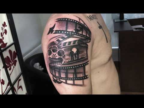 Doing Family Tattoo in Arm
