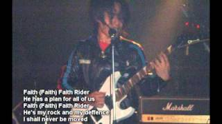 "Imari Tones ""Faith Rider"" - The first Christian heavy metal from Japan"