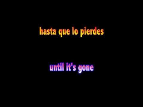 Juanes — Un Día Normal — Lyrics English/Spanish