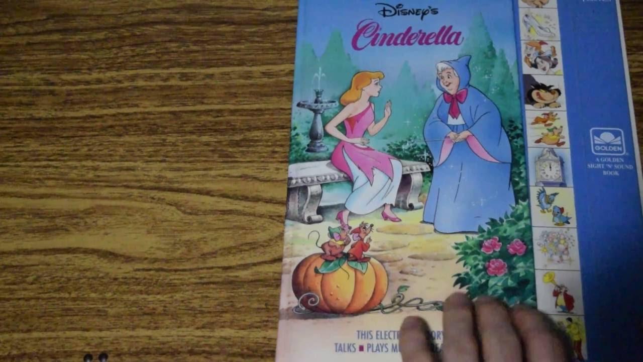 Disney S Cinderella Golden Sound Story Play A Sound Book 90s Kids