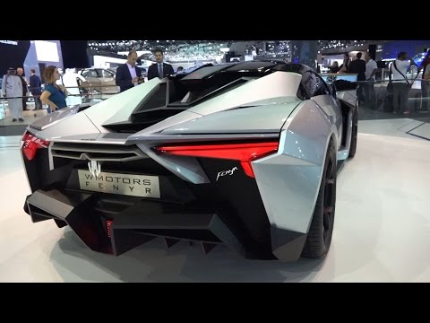 Lykan Fenyr SuperSport – Dubai Motor Show 2015